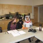 Class at Halloween